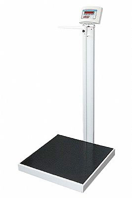 Balança Antropometrica Digital LED  Adulto 300 kg Plataforma de 40 x 50 cm W-300A- Welmy