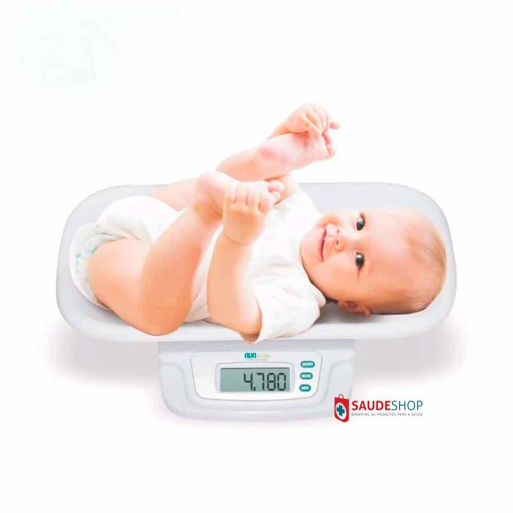 Balança Digital Pediátrica Bebê Avanutri