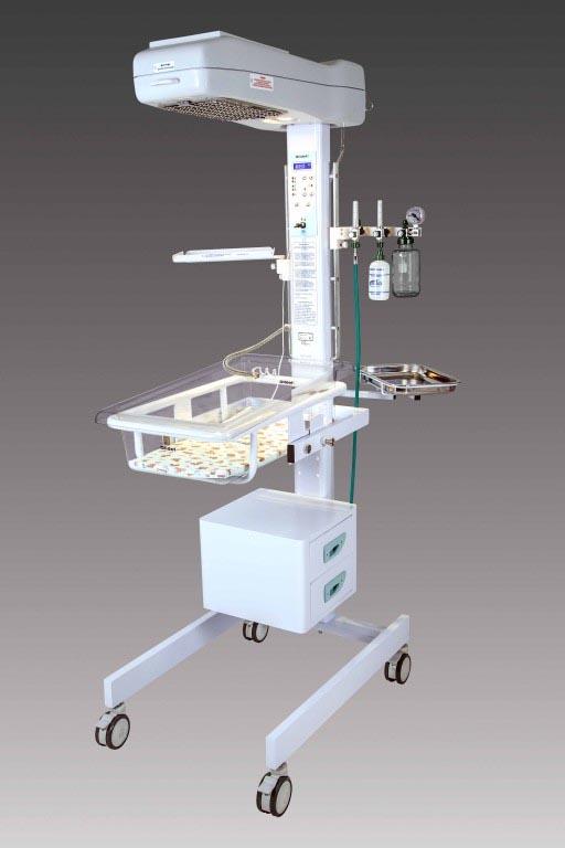 Berço Aquecido de Calor Irradiante - Modelo Matrix R Leito Hidráulico - Olidef
