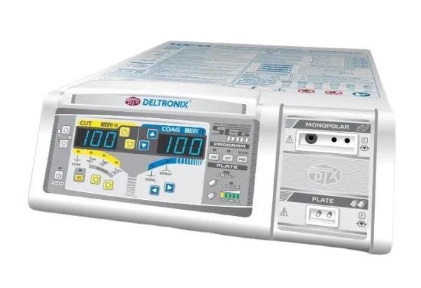 Bisturi Eletrônico Microprocessado - Mod.SEG 100 com KIT 5 - SEG ENDOSCOPIA – Deltronix