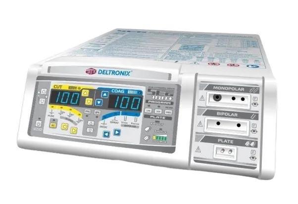 Bisturi Eletrônico Microprocessado - Mod.SEG 100 + (Plus)  com KIT 2 - SEG GINECOLOGIA – Deltronix