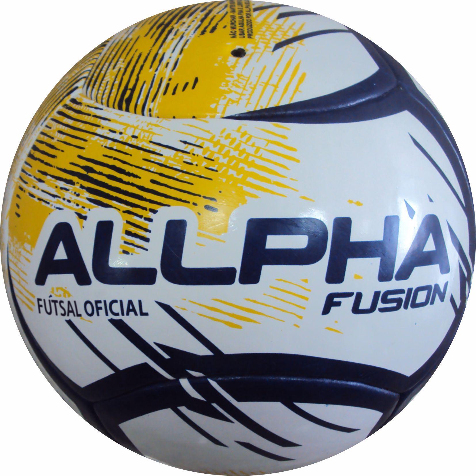 Bola de Futsal Fusion Style Termofusionada - Ref.254 - Allpha