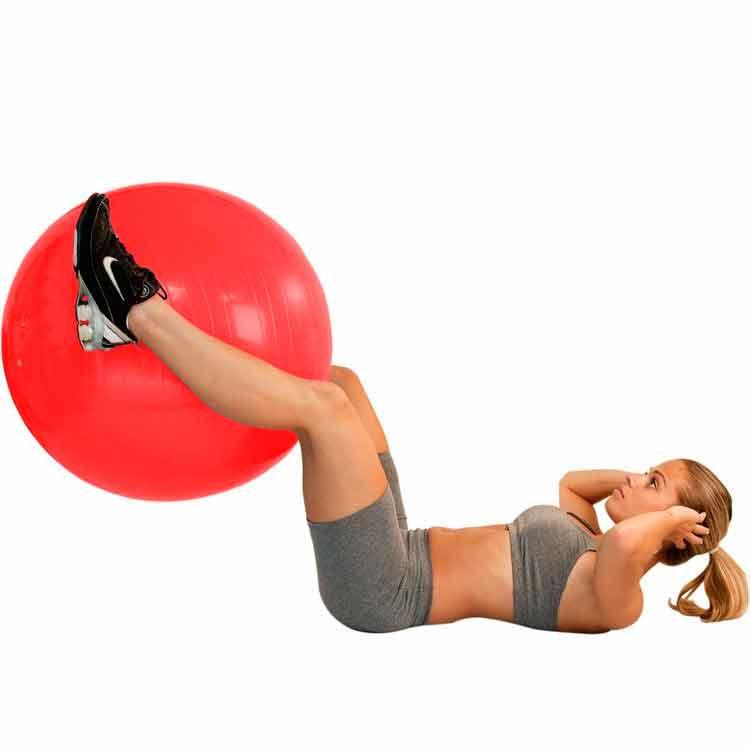 Bola Suiça P/ Pilates 45cm - Premium - Ref.: Ls3221 45 Pr - Liveup
