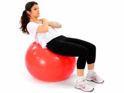 Bola Suiça para Pilates 45cm - Premium - Ref.: Ls3221 45 Pr - Liveup