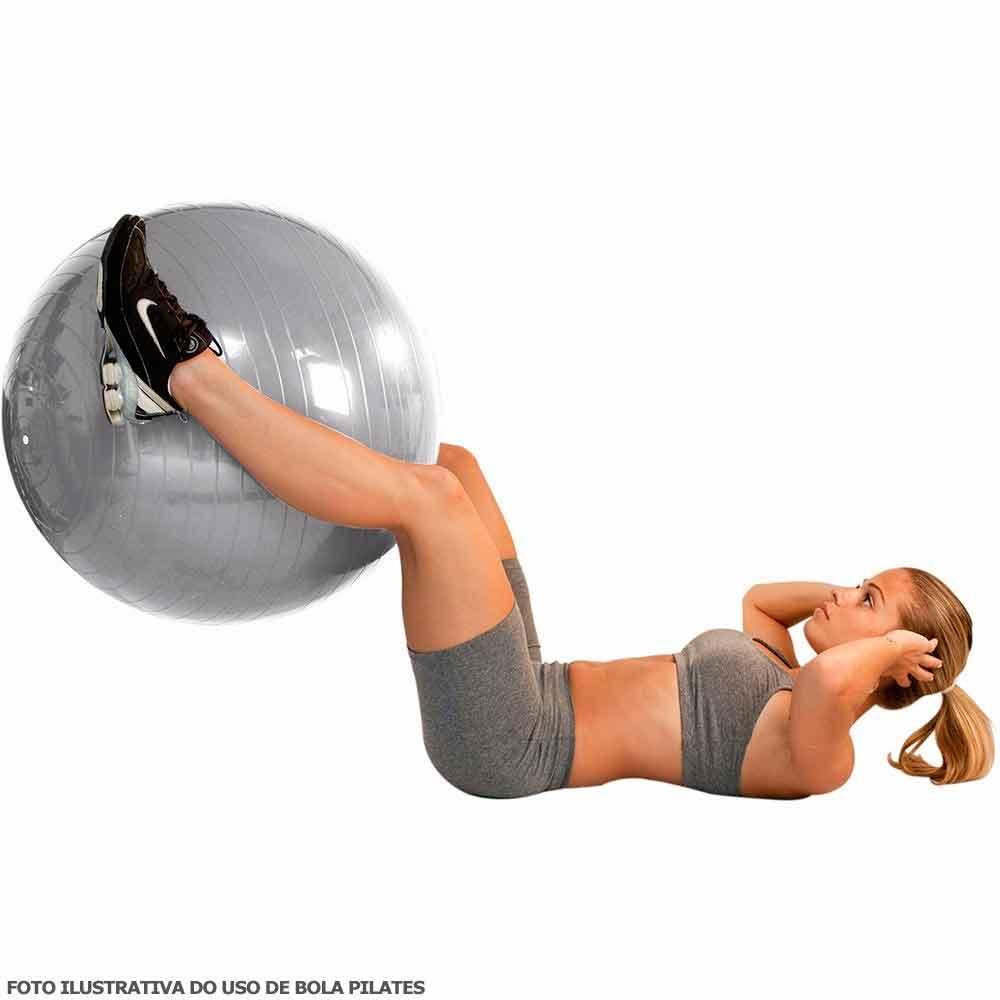 Bola Suica P/ Pilates 85cm - Premium - Ref.: Ls3221 85 Pr- Liveup