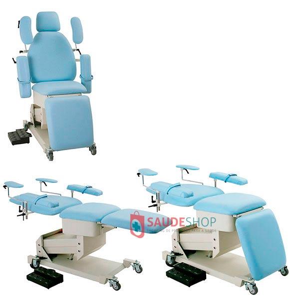 Cadeira Cirúrgica para Oftalmologia Modelo MC-03 - Xenônio
