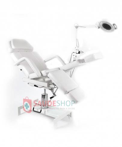 Cadeira / Poltrona Hidráulica Podologia com Exaustor Bivolt  - Estek