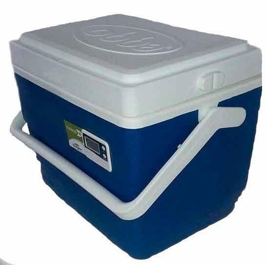 Caixa Térmica 15 litros com Termômetro -  Cygnus