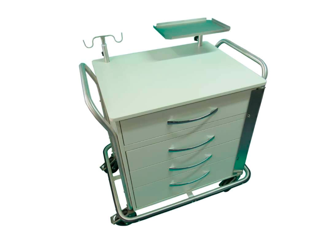 Carro Auxiliar para Ressonância Magnética  Mod. MA050 - Marca CDF