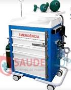 Carro de Emergência 05 Gavetas – CA - Mod. BKCE 011 - Marca BK