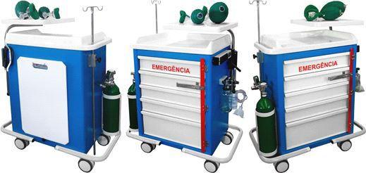 Carro de Emergência 05 Gavetas – CA - Mod. BKCE 011 - BK