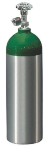 Cilindro de Oxigênio em Alumínio 1,7 Litros (Sem Carga) - Mod. CL210 - Unitec