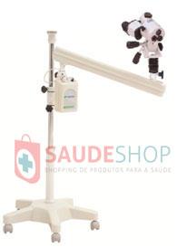Colposcópio Binocular Rodízios Aumento Fixo de 16 vezes com Braço Articulado PE-7000 FBR - Medpej