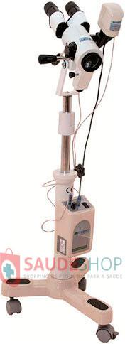 Colposcópio Binocular 3 Aumentos Variáveis (07, 14 e 25 X) Iluminação de Led – 3 Rodízios – Terceira Ocular – Câmera de Vídeo PE7000-VRDC3 – Medpej