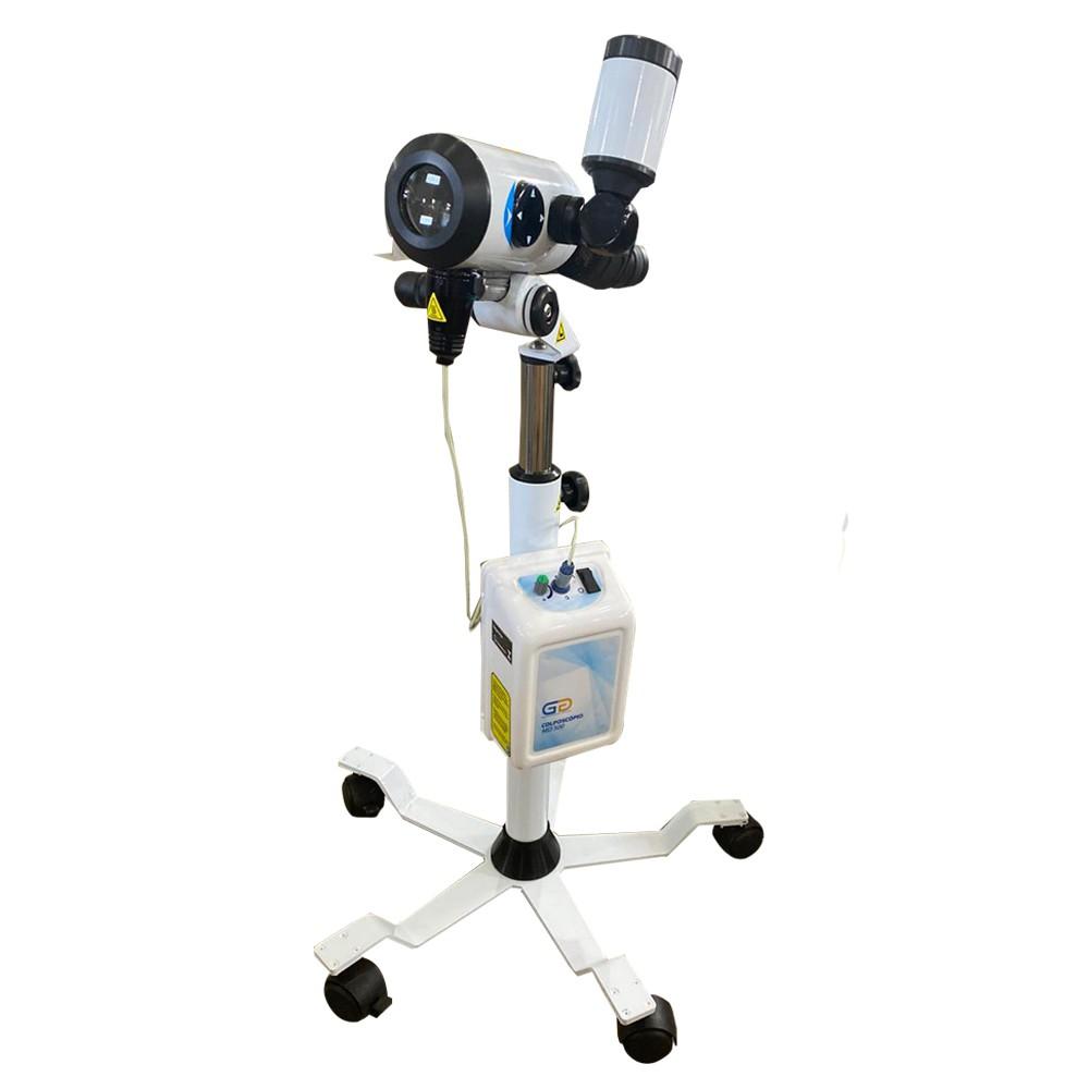 Colposcópio em Led -  Mod. Md500 C 16x (Fixo)  + Câmera + Terceira Ocular Led – GG