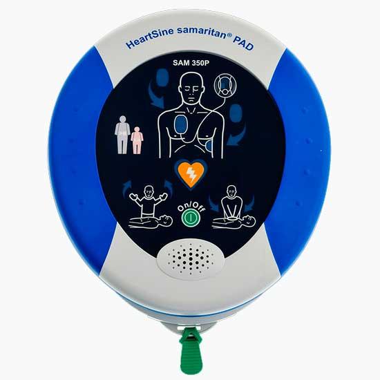 Desfibrilador Externo Automático DEA Samaritan PAD 350P HeartSine