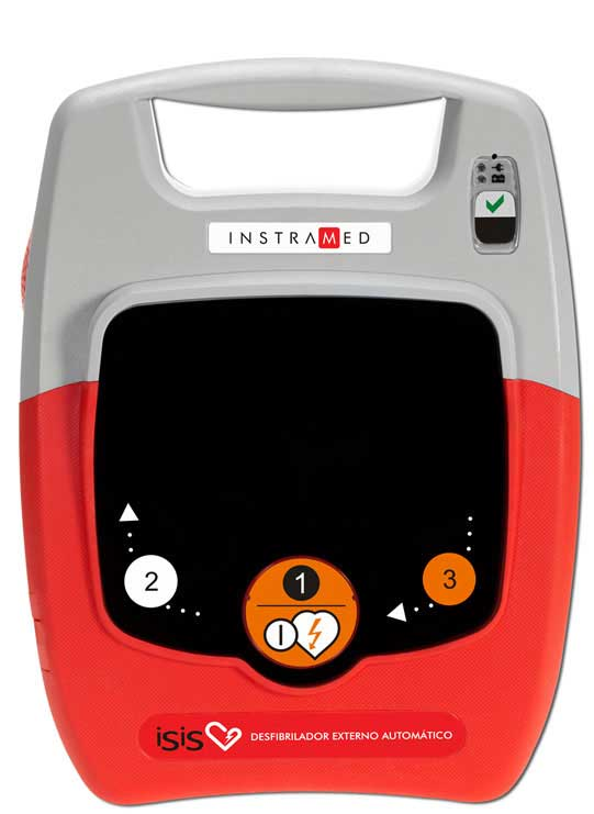 Desfibrilador Externo Automatico ISIS ( DEA ) - Instramed
