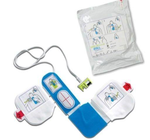 Pás Adesivas / Eletrodos p/ DEA (AED Plus) c/ Sensor de RCP  Adulto CPR-D Padz - ZOLL