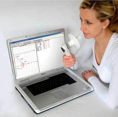 Espirômetro Micro Quark para uso em computador- Cosmed