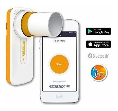 Espirômetro Portátil de mão - Smartone® - Pico de fluxo e FEV1 - MIR