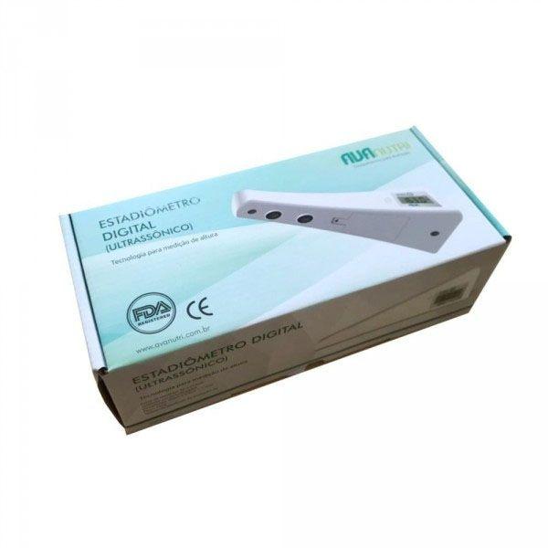 Estadiômetro Digital Ultrassônico Mod. AVA 40 - Avanutri