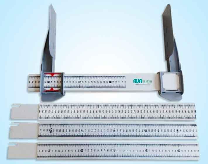 Estadiômetro Horizontal Portátil para Pacientes Acamados AVANUTRI