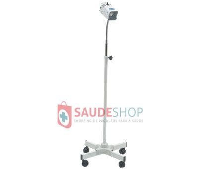 Foco Auxiliar para Exames Clínicos e Ginecológico com Espelho Mod. FL-4000 H - Medpej