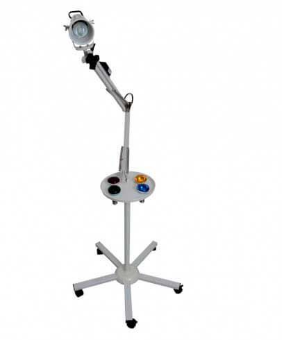 Foco de Luz para Cromoterapia com Lâmpada Led Color 1 Braço - Estek