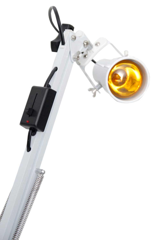 Foco de Luz para Cromoterapia com Lâmpada Led Color 4 Braços - Estek