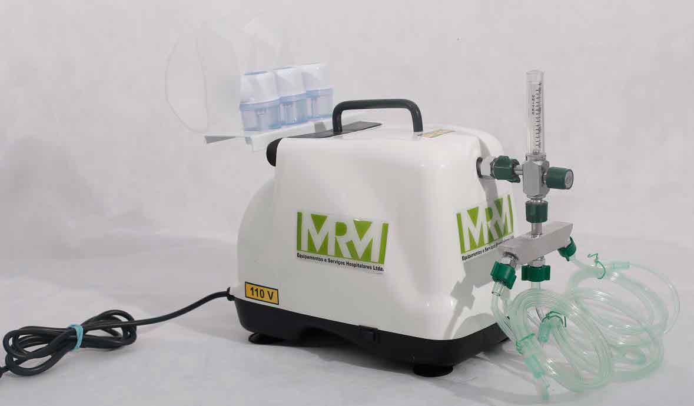 Inalador/Nebulizador Portátil Mod. MRM-100 - 3 Saídas - Inalovida