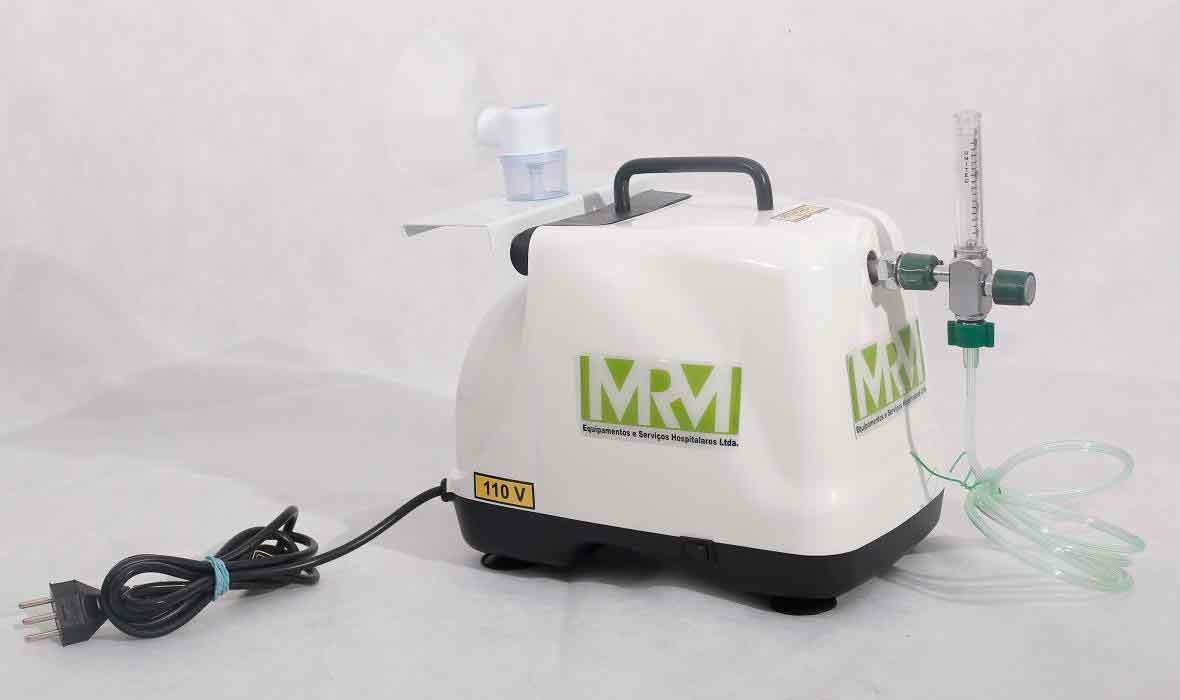 Inalador/Nebulizador Portátil Mod. MRM-200 - 1 Saída - Inalovida