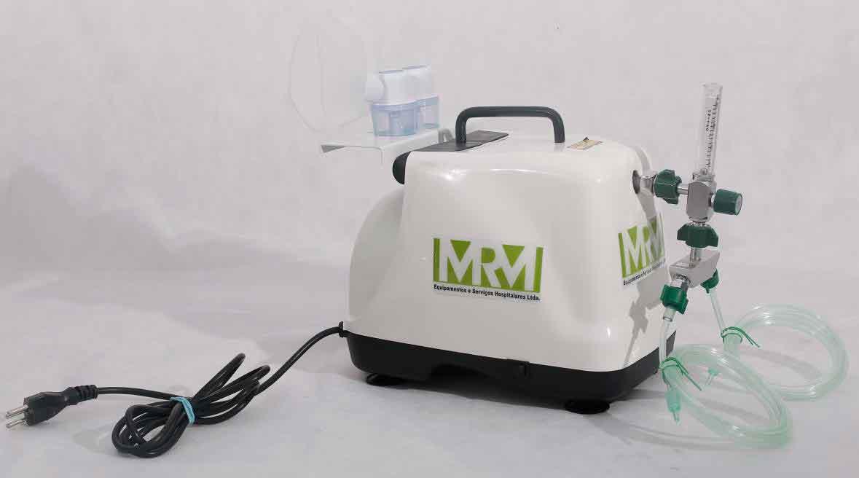 Inalador/Nebulizador Portátil Mod. MRM-200 - 2 Saídas - Inalovida