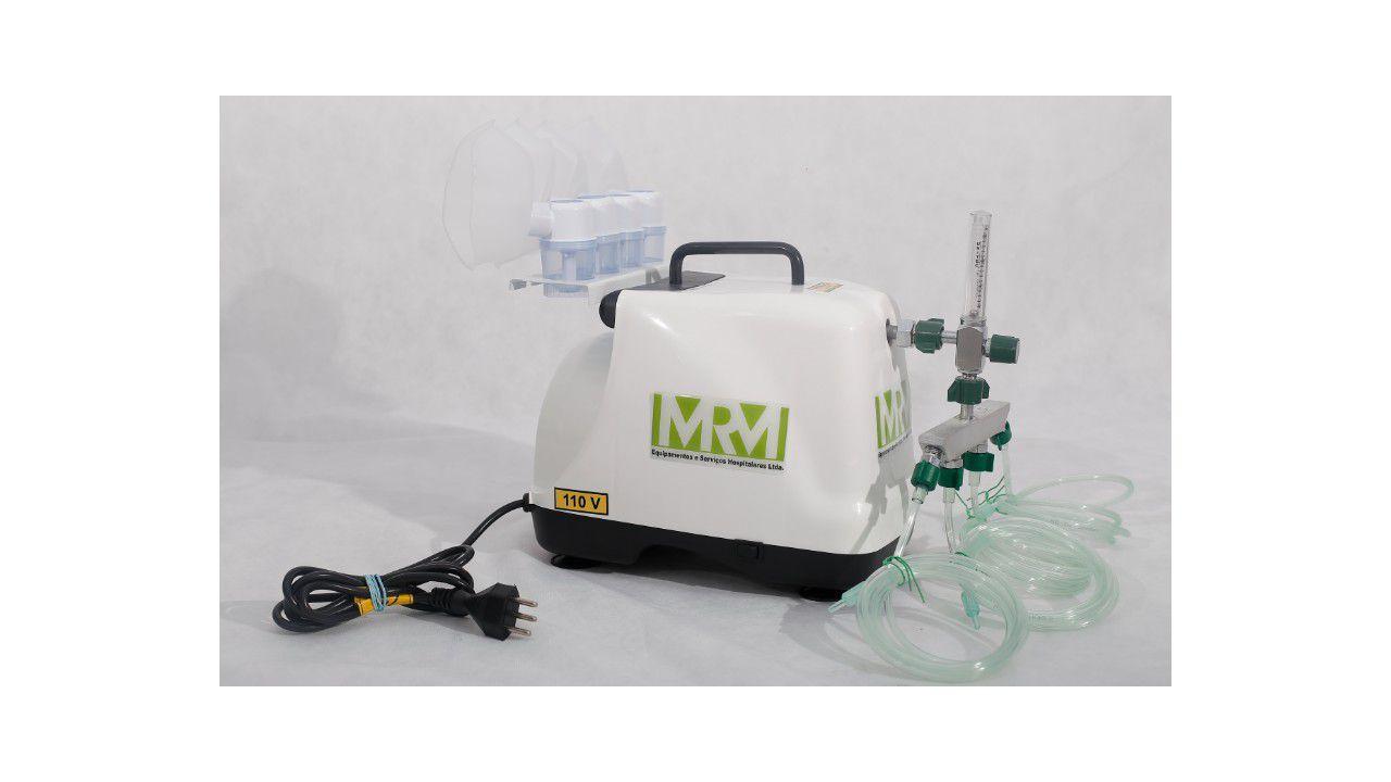 Inalador/Nebulizador Portátil Mod. MRM-200 - 4 Saídas - Inalovida