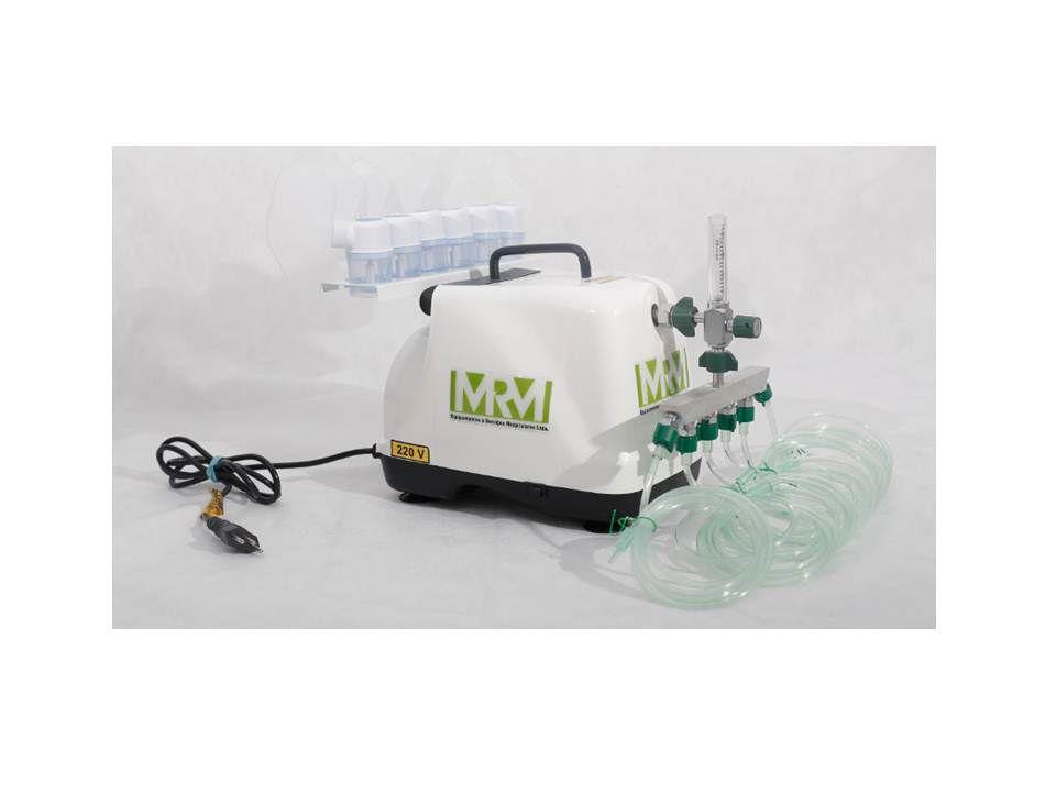 Inalador/Nebulizador Portátil Mod. MRM-200 - 6 Saídas - Inalovida