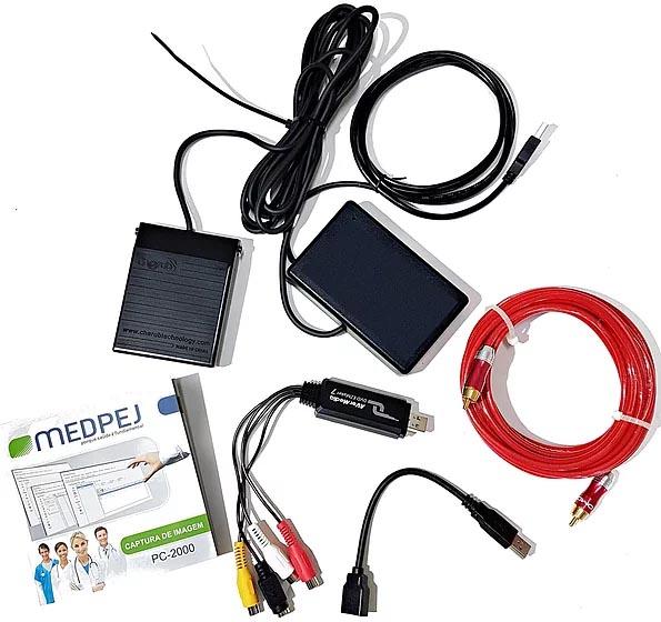 Kit de captura para Colposcópio com câmera digital PC 2000 HD - Medpej