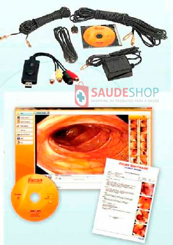Kit Sistema de Captura de Imagem PC 2000 ex - Medpej