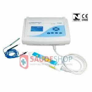 Laser para Terapia Lasermed Mod. 4098LS com Caneta Laser Mod.4095 - 650 NM - 12 Watts - Carci