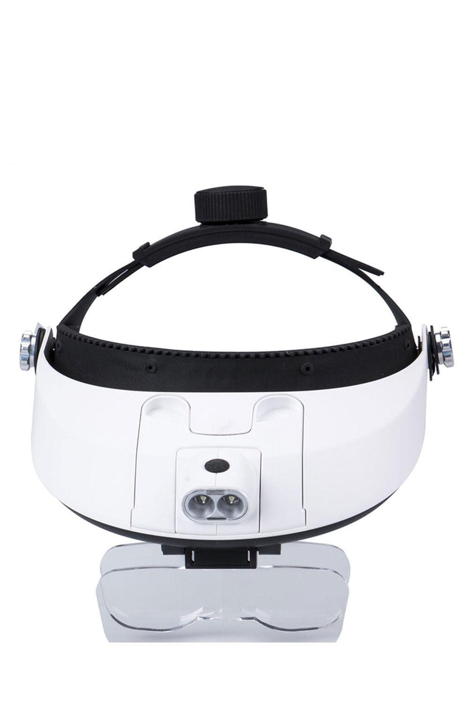 Lupa de Cabeça com LED e 5 lentes – ES - ML