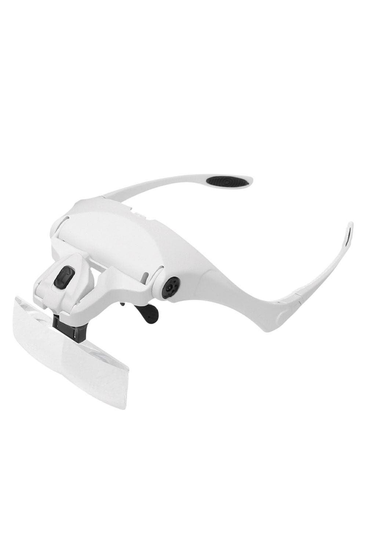 Lupa de Cabeça Power com 5 lentes LED – ES - ML