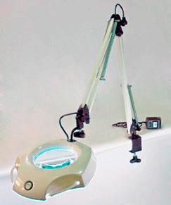 Lupa de Mesa/Bancada Mod. 135RMBI - Intex