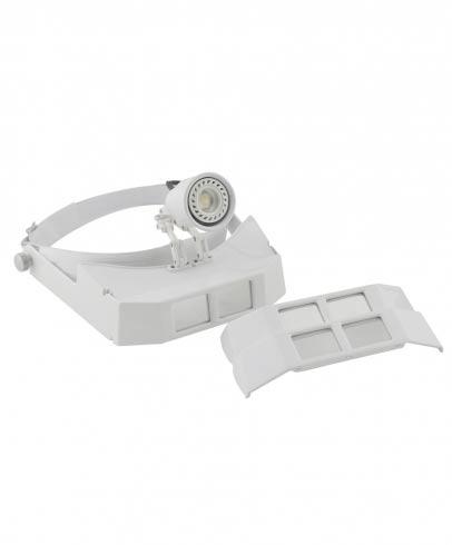 Lupa de Pala com Fotóforo LED - Estek