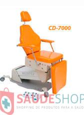 Mesa / Cadeira Automática para Exames com apoio de cabeça movel / articulavel e encosto anatômico CG-7000-D - Medpej