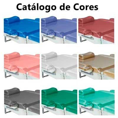 Mesa / Cadeira Clinica Plastica com Trendelemburg- com Rodas - Mod. RT 3000 - Odontomedics