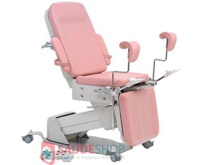 Mesa / Cadeira Ginecológica Automática (subida e descida do Assento, Encosto e Apoio Panturrilhas acionados à Pedal) CG-7000-P - Medpej