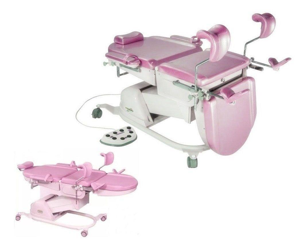 Mesa / Cadeira Ginecológica Mod. RT2000 - com Trendelemburg - LANZA MEDICAL