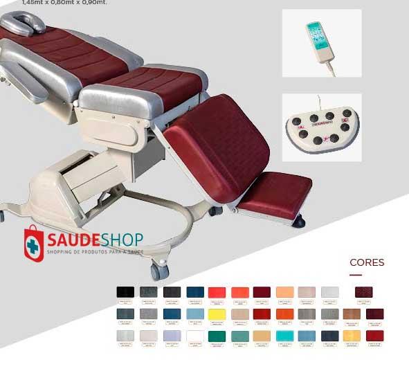 Mesa/Cadeira para Procedimentos Clínicos em geral  - Modelo RT5000 - ESTETIC - Lanza Medical
