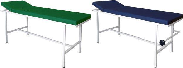 Mesa De Exames Clínicos Leito Estofado - Com Suporte Para Rolo (Lençol) - Mod. BKME 001 – 005 -  BK