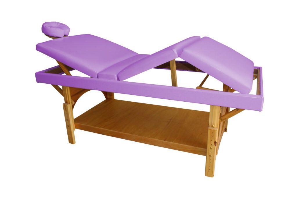 Mesa De Massagem Tri Fixa Especial  - Mod.016-M - GC