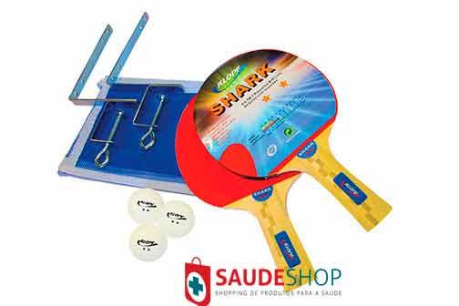 Tênis de Mesa - Ping-Pong 15 mm - Ref.1001 - KLOPF com acessórios