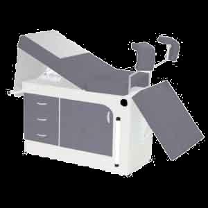 Mesa Ginecológica Luxo com 1 Porta dupla e 3 Gavetas Bio-200 – Bio MN